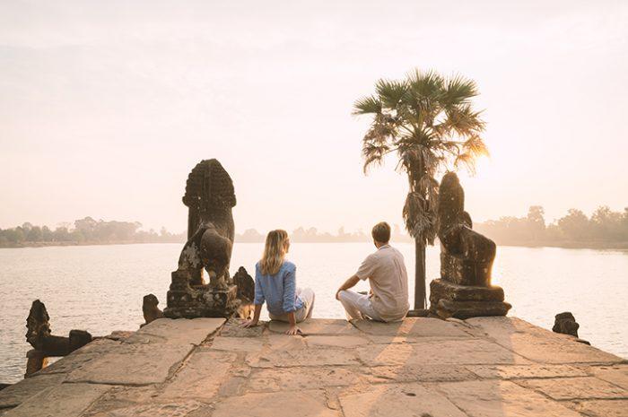 Couple in Cambodia