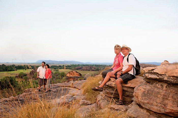Couple in Kakadu National Park