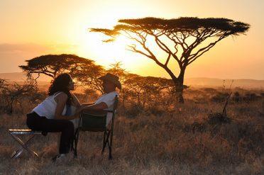Couple in Tanzania, Africa