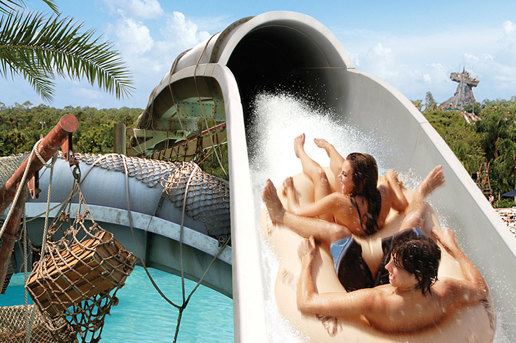 Waterslide, Disney World Resort, Orlando, USA