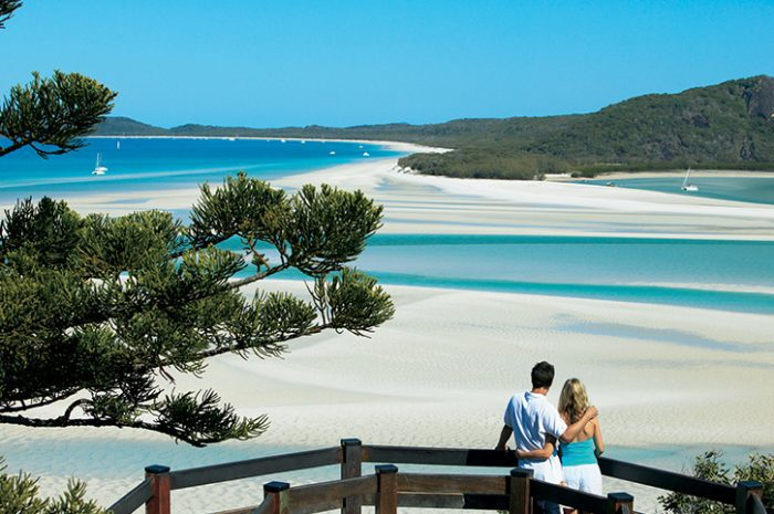 Hill Inlet Overlooking Whitehaven Beach