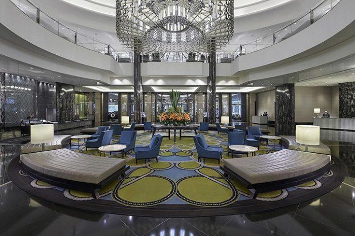 Crown Hotels Lobby