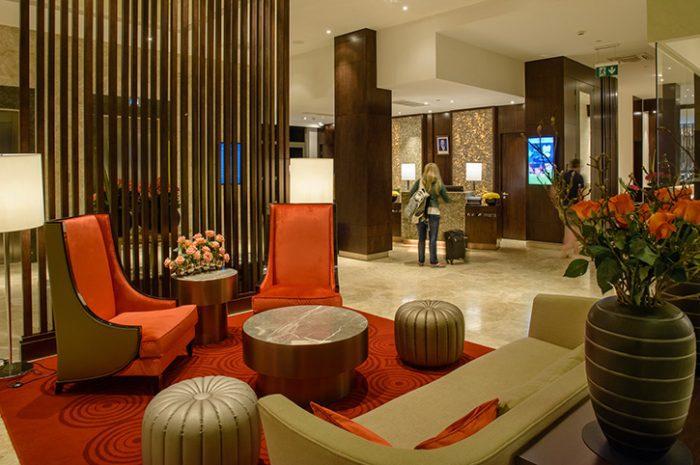 Crowne Plaza Nairobi Lobby Area