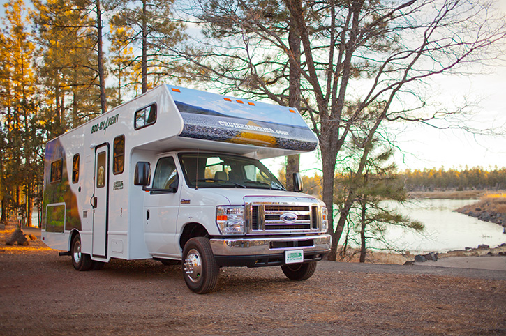 AMERICA MOTORHOME HIRE: Truck campers to A-class RVs