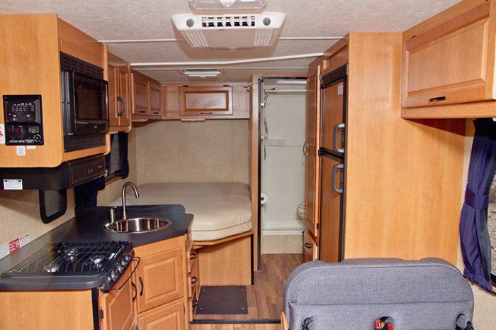 Cruise America C25 Interior