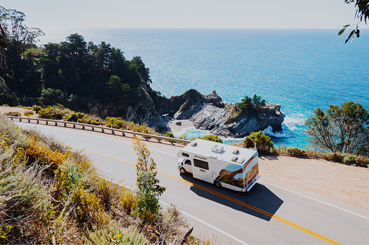 Cruise America Motorhome, California