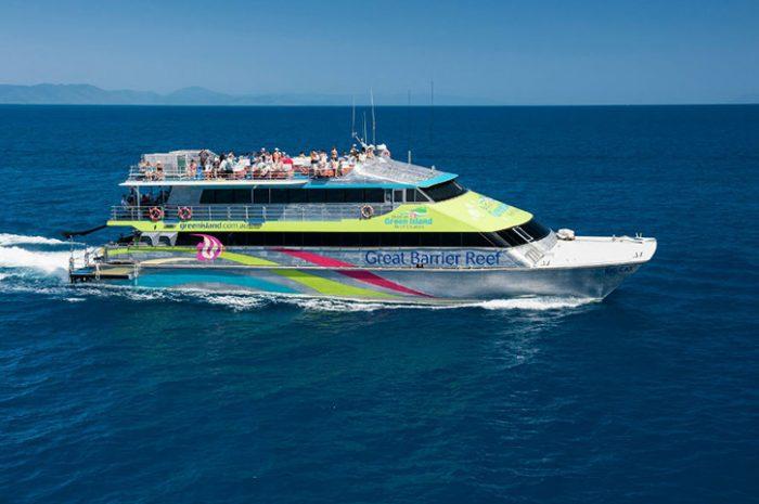 Cruise to GreenIsland, Queensland