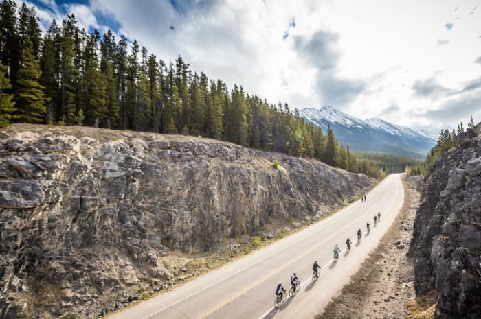 Cycling in the Rockies