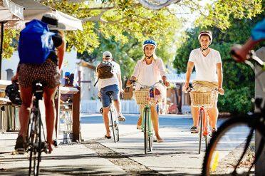 Cycling On Rottnest Island