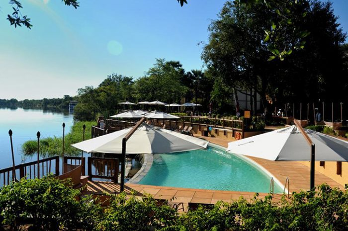 David Livingstone Safari Lodge Pool
