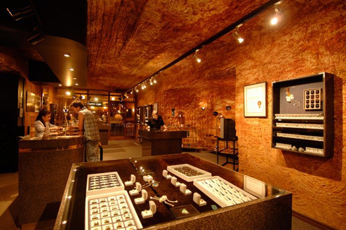 Desert Cave Opal Shop