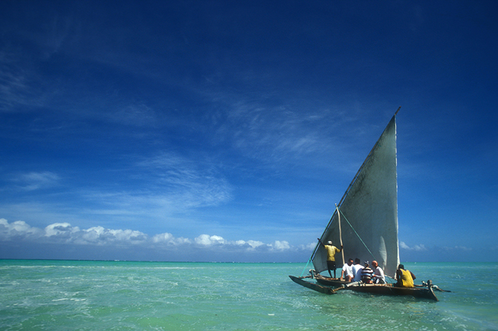 Dhow, Zanzibar