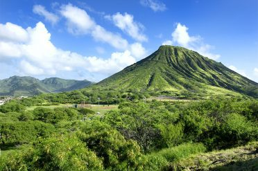 Diamond Head Volcano, Hawaii