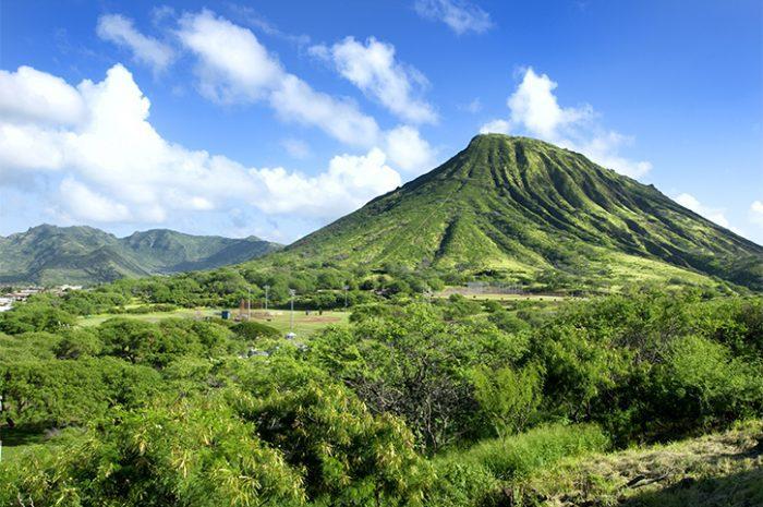 Diamond Head Volcano, Hawaii