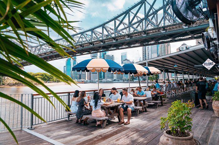 Riverside dining, Brisbane
