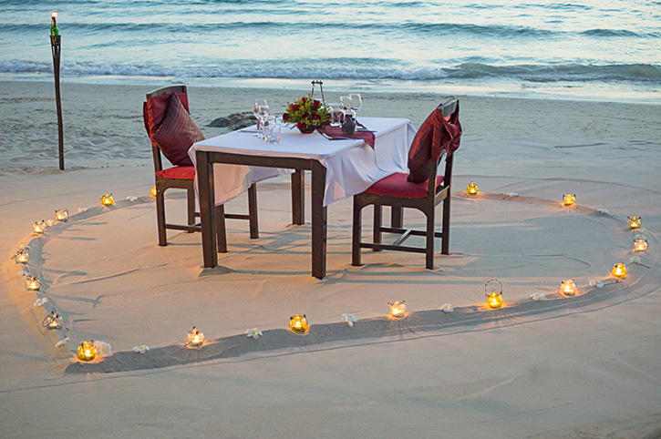 Beach Dinner, Koh Samui, Thailand