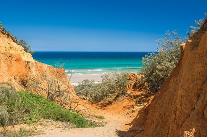Double Island Point, Fraser Island