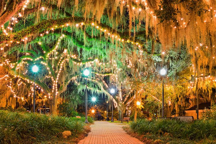 Downtown Park. Tallahassee. Florida