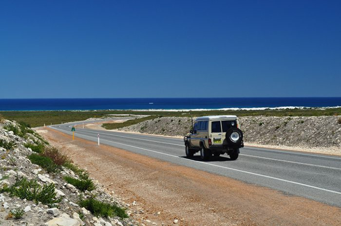 Driving through Western Australia