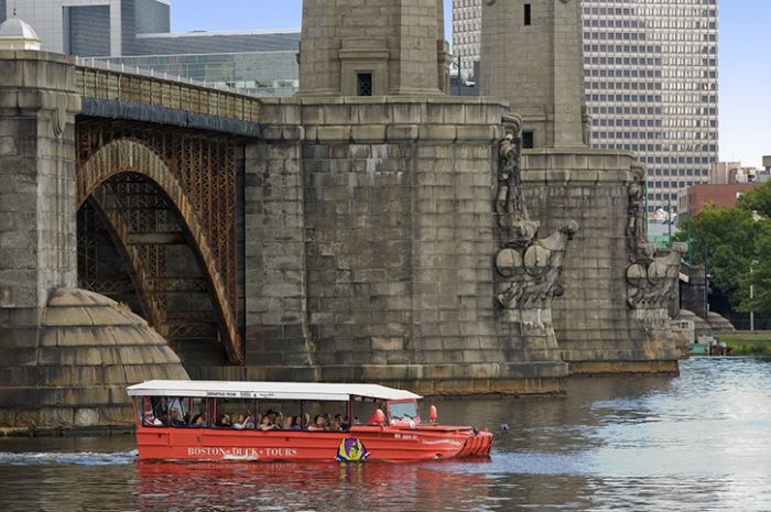 Duck Boat Tour, Cruising the Charles, Boston, USA
