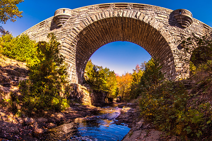 Duck Brook Bridge, Acadia National Park