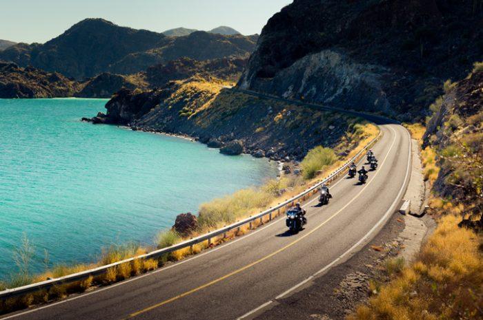 Riding in Baja California