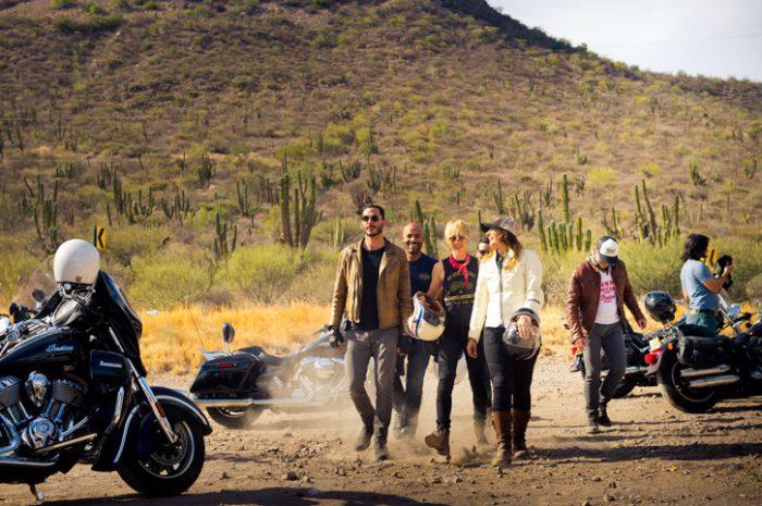 Motorcyclists, Baja California