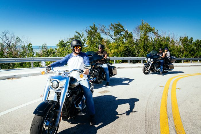 Riding in Key West