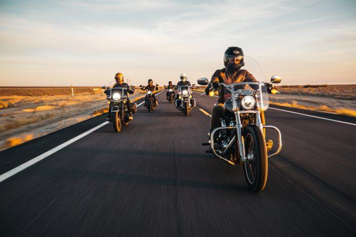 Riding through the Colorado Desert