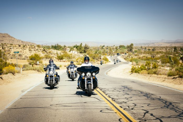 Riding on Route 66