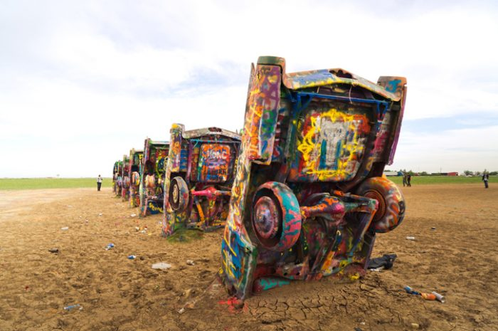 Cadillac Ranch, Route 66