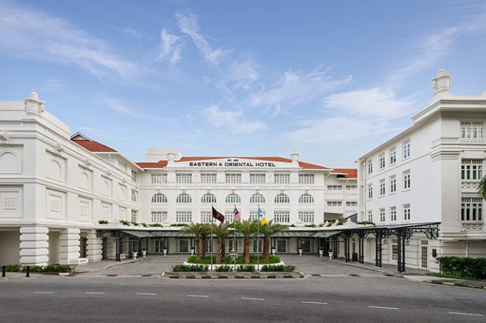 Eastern Oriental front facade