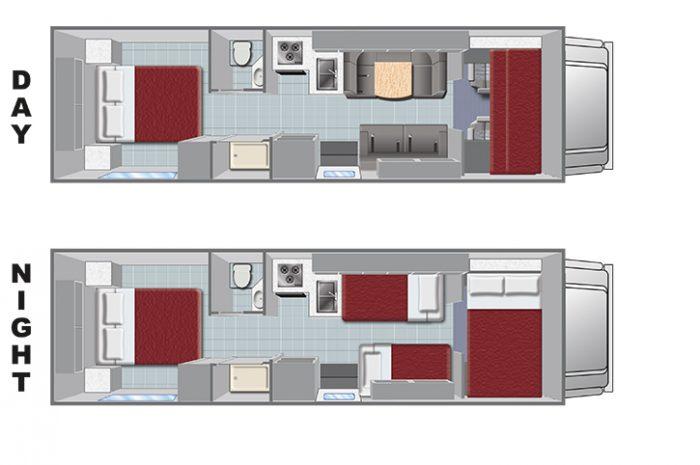 El Monte C28 Floorplan