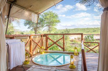 Elephant Bedroom private plunge pool