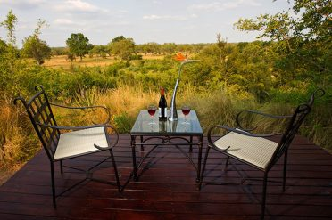 Elephant Plains Lodge Private Deck