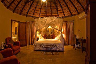 Elephant Plains Lodge Rondavels Room