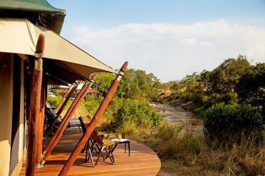 Elewana Sand River Tent Exterior