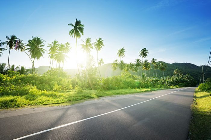 Empty Roads, Seychelles
