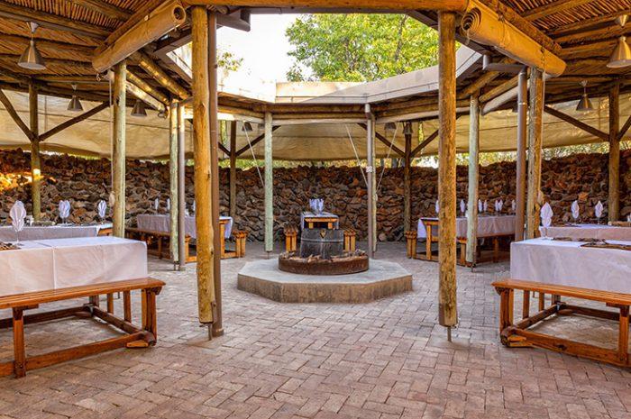 Etosha Village Bar Area