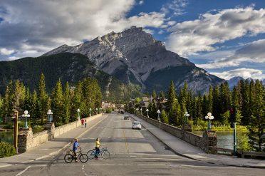 Exploring Banff, Canada