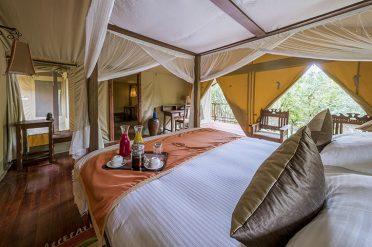Tent Interior, Ashnil Mara Camp
