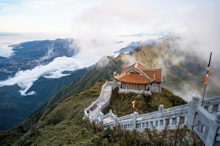 Mount Fansipan Temple, Sapa