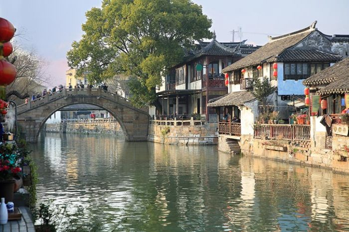 Fengjing Ancient Town China