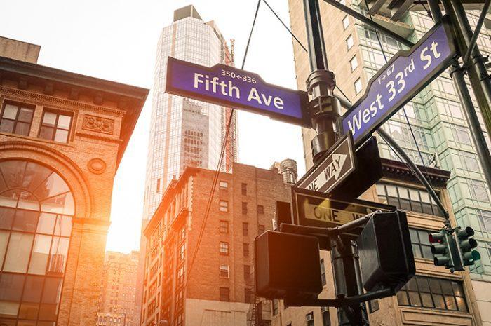 Fifth Avenue, New York, USA