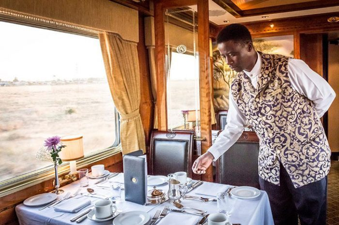 Fine dining Blue Train