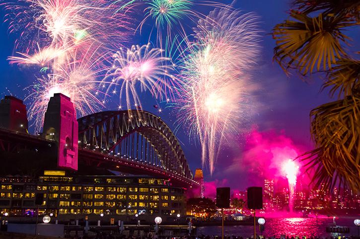 Fireworks At Sydney Harbour