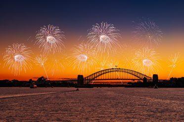Fireworks Over Sydney Harbour Bridge