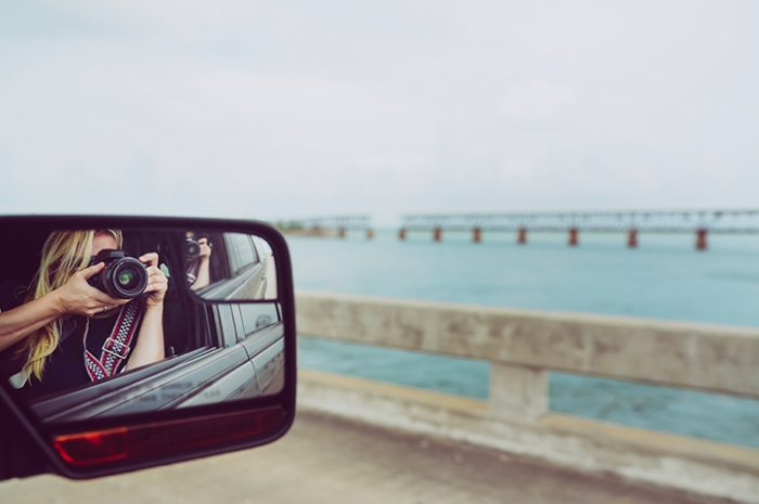 On the road in the Florida Keys