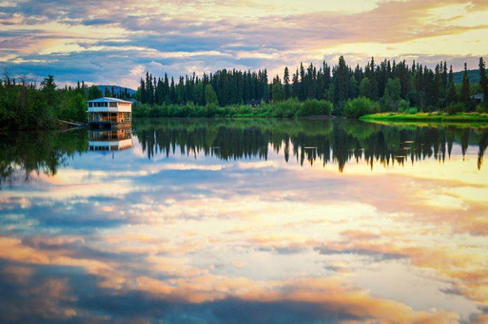 Forest Reflections, Alaska