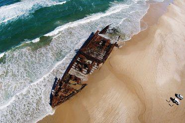 Maheno Shipwreck, Fraser Island, Queensland